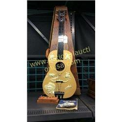Gene Autry Childs Cowboy Guitar In Original Box