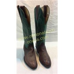 New Store Sample Boots Shark Skin Size 10