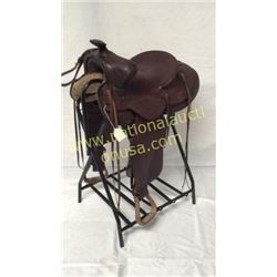 14in Vintage Saddle