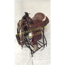 15in Paul Ammerman 1989 Trophy Saddle
