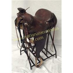 15in Western Hereford Saddle