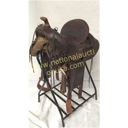 15in Antique Western Saddle