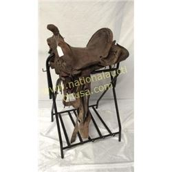 Antique Wall Hanger Saddle