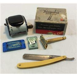 Collection Of Vintage Shaving Items