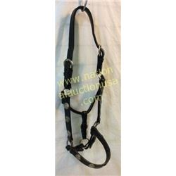 Fancy Leather Show Halter