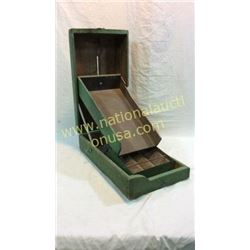 Primitive Wooden Nail Sorter
