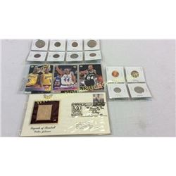 Stamp Cards And Coins