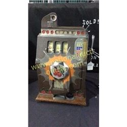 1937 Mills Bursting Cherry Slot Machine