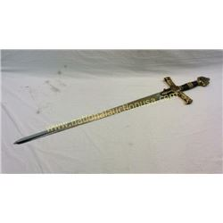 Large Movie Prop Sword