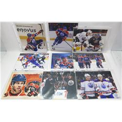 LOT OF 31 EDMONTON TAYLOR HALL , RYAN NUGENT -