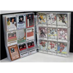 BINDER OF 500+ VARIOUS HOCKEY CARDS INCLUDING
