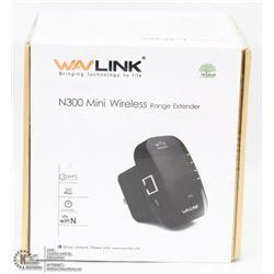 NEW WAVLINK N300 WIRELESS RANGE EXTENDER