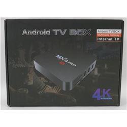 NEW MXQ 4K ANDROID TV BOX MULTIMEDIA GATEWAY