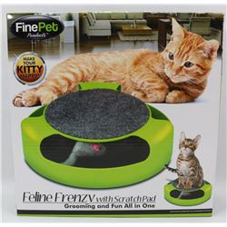 NEW FELINE FRENZY CAT TOY WITH BUILT IN