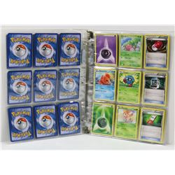 BINDER WITH OVER 70 COLLECTIBLE POKEMON