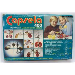 CAPSELA 400 MOTORIZED LAD AND WATER MODELS