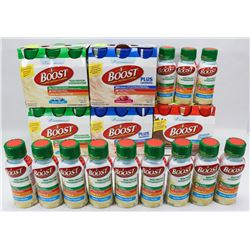 LARGE LOT OF ASSORTED BOOST DRINKS