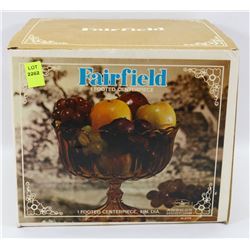 """FAIRFIELD 9"""" FOOTED CENTERPIECE BOWL MADE"""