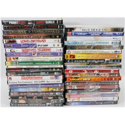 LOT OF OVER 40 DVD'S
