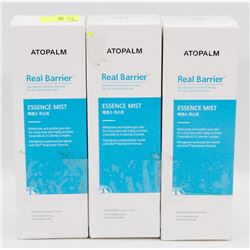 LOT OF 3 ATOPALM REAL BARRIER ESSENCE MIST 80ML EA