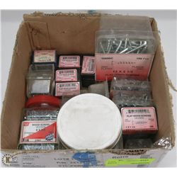 LARGE FLAT OF ASSORTED FASTENERS