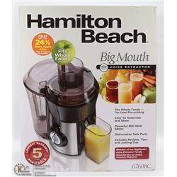BRAND NEW HAMILTON BEACH JUICE