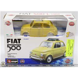 SEALED BURAGO FIAT 500 L 1968 ITALIAN