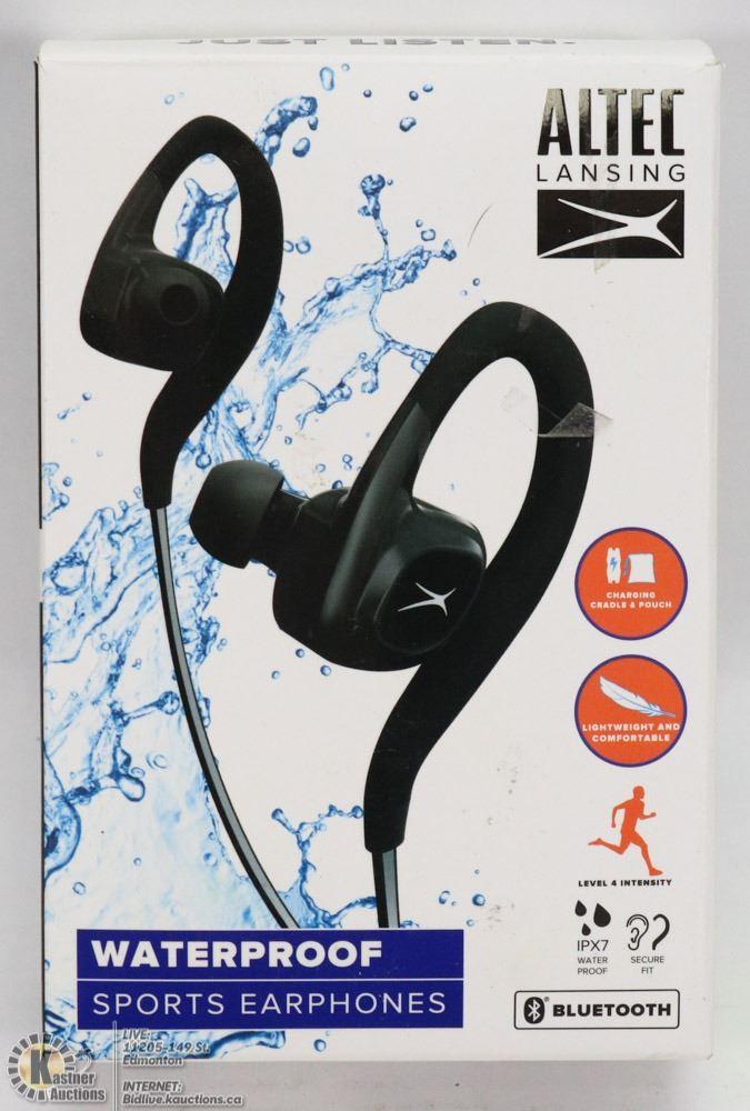 reputable site b8ae8 58334 ALTEC LANSING WATERPROOF SPORTS EARPHONES