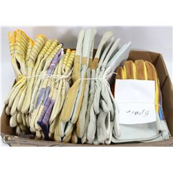 BOX OF ASSORTED WORK GLOVES