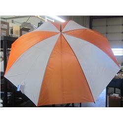 New 30 inch Golf Umbrella / Orange & white