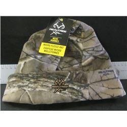 New Realtree Micro Fleece Hat / mens