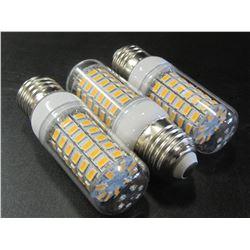3 New 69 LED Cobb Lightbulbs / warm white / save huge on power