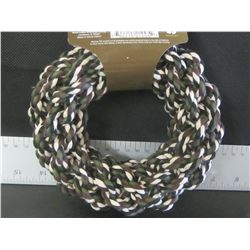 New Braided Rope toy hoop for dogs