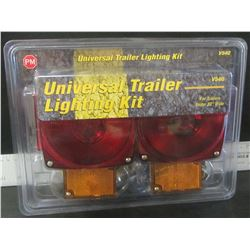 """Universale Trailer lighting kit / for trailers under 80"""" wide"""