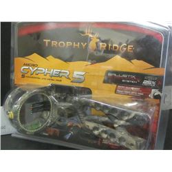 Trophy Ridge Bow Sights Micro Cypher 5 micro adjustments/ 25% lighter
