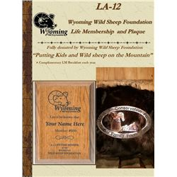 WY-WSF Life Membership