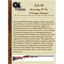 Browning BT99 12 Gauge Shotgun