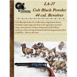 Colt 44 Caliber Black Powder Pistol