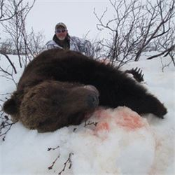 10 day Alaskan Spring Bear Hunt for One with Extreme Adventures