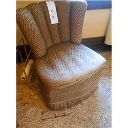 Vintage Chair on Wheels