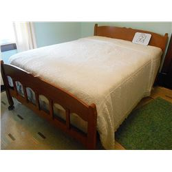 Vintage Maple Bed / Some Wear