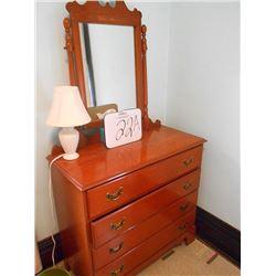 Vintage Vanity Dresser