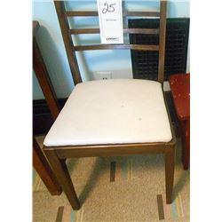 Vintage Chair Arrow Back Oak