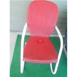 Vintage Metal Outdoor Chair