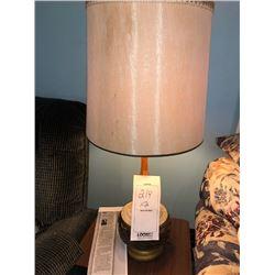 Bundle Lot / Vintage Lamps / 3 Light Floor Lamp / Vintage Wall Lamp