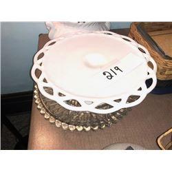 Bundle Lot / Vintage Pie Plates / Soup Tureen / Baking Tray, 17 Goblets