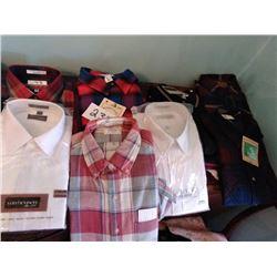 Asstd. NEW XL Men's Shirts x9, Still in Packaging NEW