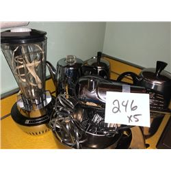Sunbeam Mixer, Blender, Coffee Pots All WorkVintage