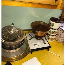 Fondue Pot, Bundt Pans, More