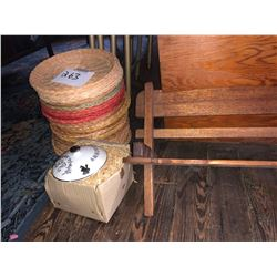 Wicker Basket and Pot